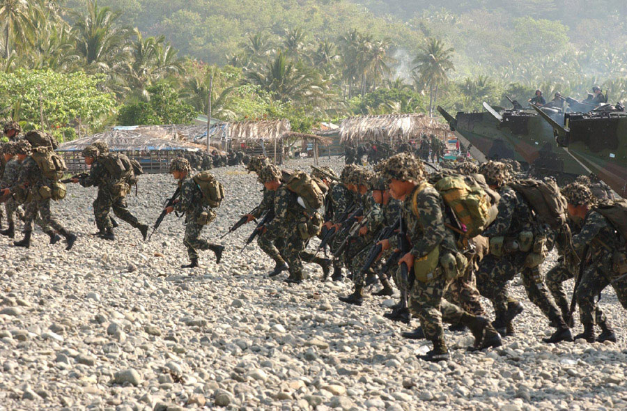 Philippines marines