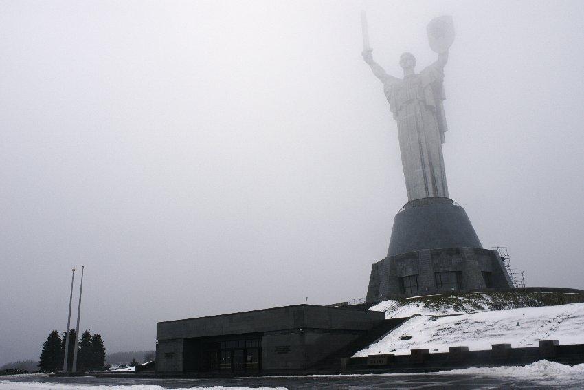 Soviet era architecture in Kiev