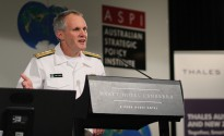 Commander Submarine Forces, US Pacific Fleet, Rear Admiral Phillip Sawyer. Image credit: Luke Wilson, ASPI