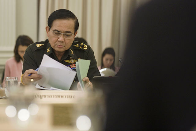 Commander-in-Chief of the Royal Thai Army Gen. Prayuth Chan-ocha.