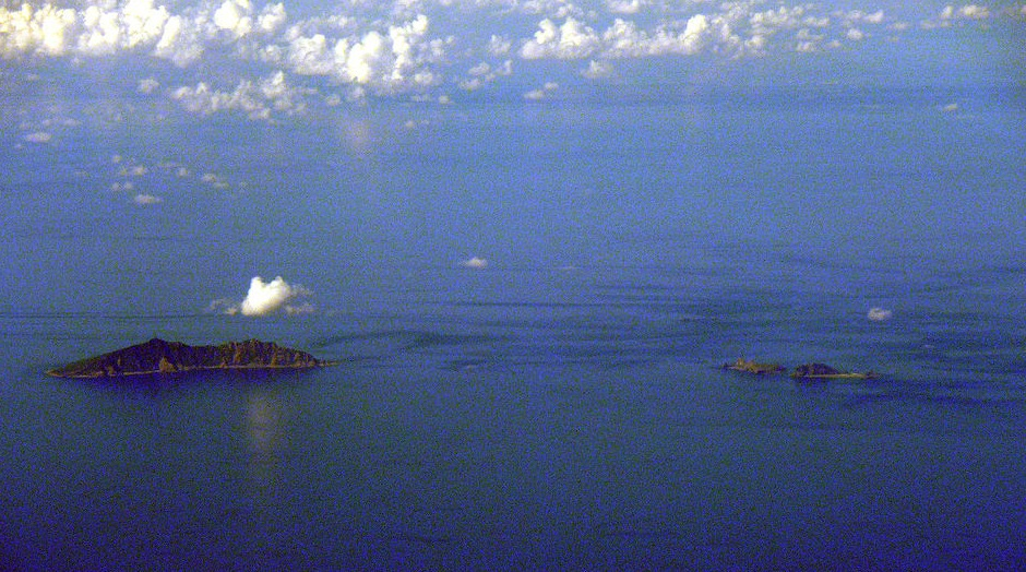 Uotsuri Jima/Diaoyu Dao, Kita Kojima/Bei Xiaodao and Minami Kojima/Nan Xiaodao Islands in the Senkaku/Diaoyu island chain. China's experience with hard power is indicative: A century ago a great power in China's position would have just invaded to grab the resource.