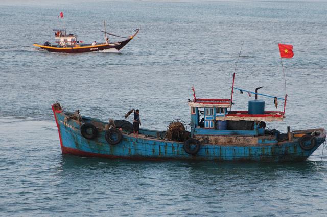 Vietnam Da Nang Fishing Boat