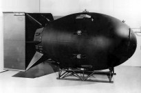 """""""Fat Man"""" was the codename for the type of atomic bomb that was detonated over Nagasaki, Japan, by the United States on 9 August 1945."""