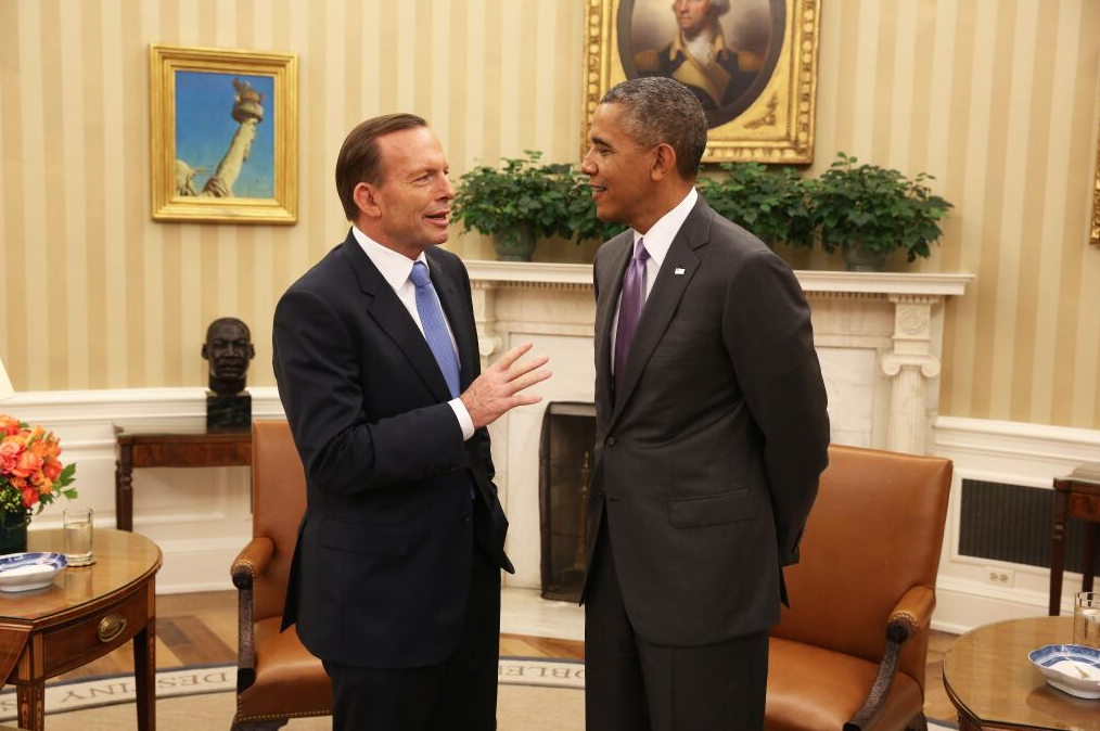 Prime Minister Abbott recently met with President Obama where they discussed the ANZUS relationship.