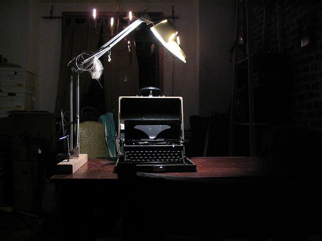 Typewriters instead of computers?