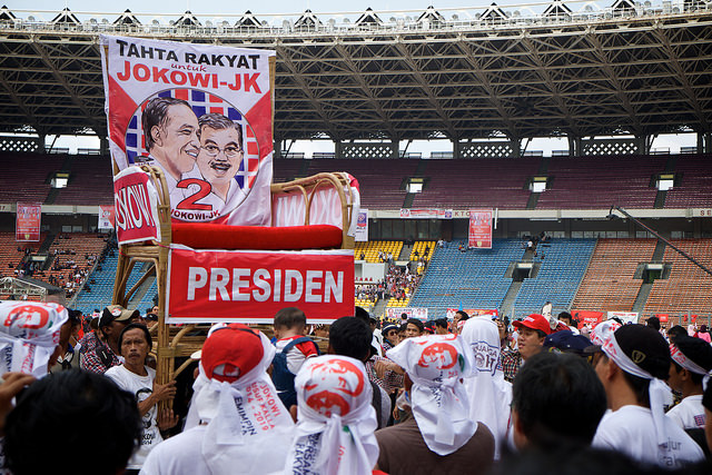 Who are Jokowi's supporters?