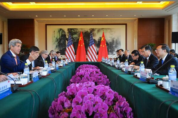 US Secretary of State John Kerry during the recent US-China Strategic & Economic Dialogue, Beijing.