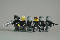 Male and female squads