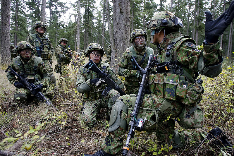 Is Japan's military actually moving forward?