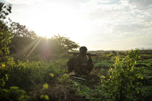 The Somali National Army and troops from the African Union Mission in Somalia (AMISOM) successfully executed a joint operation in the Lower Shabelle Region of Somalia today, capturing the key town of Qoryooley from the extremist group Al-Shabaab.