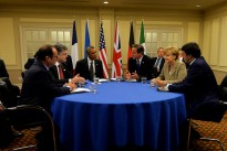 Prime Minister David Cameron met with several heads of NATO countries