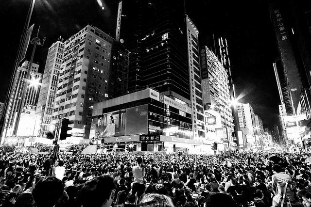 Unbrella Revolution -Hong Kong