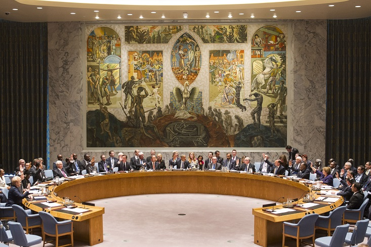 At a summit held at the level of Heads of Government, the Security Council unanimously adopts resolution 2178 (2014), calling on all Member States to cooperate in efforts to address the threat posed by foreign terrorist fighters.