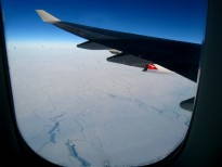 Kangaroo over Antarctica