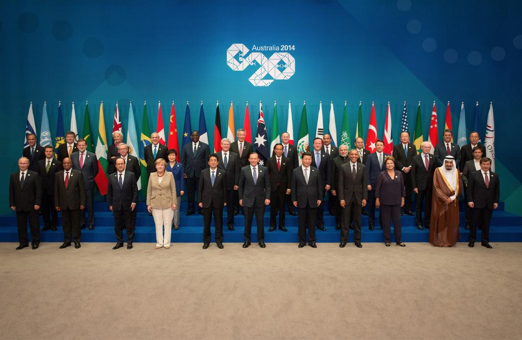G20 Leaders' Photo