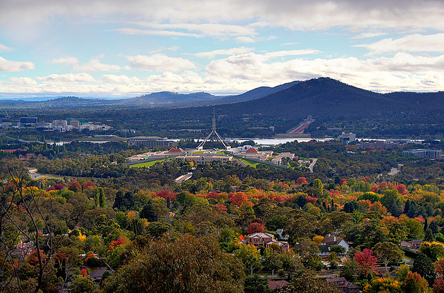 Canberra in Autumn