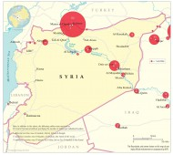 The first 100 days of airstrikes in Syria, based on US Central Command news releases.