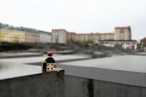 Travels of badger - Berlin Holocaust Memorial