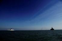 PASSEX with HMAS Perth and INS Sahyadri