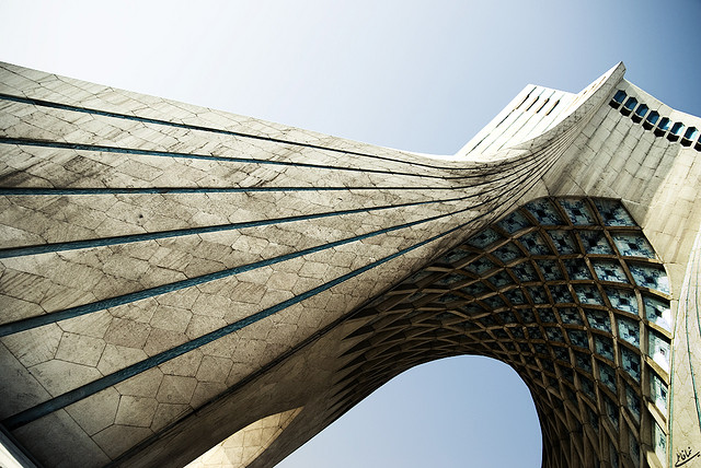 Tehran's Azadi Tower