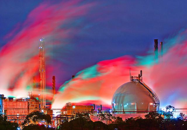 LNG plant, Victoria.