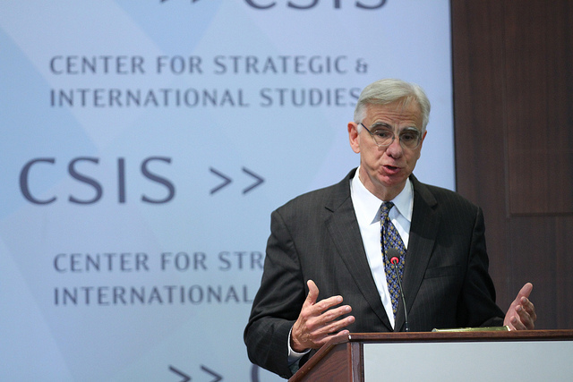 Hans Binnendijk, formerly senior director for defence policy at the US National Security Council