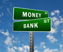 Money street sign