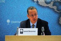 Jamal Benomar, Special Adviser to the UN Secretary General, UN Envoy to Yemen