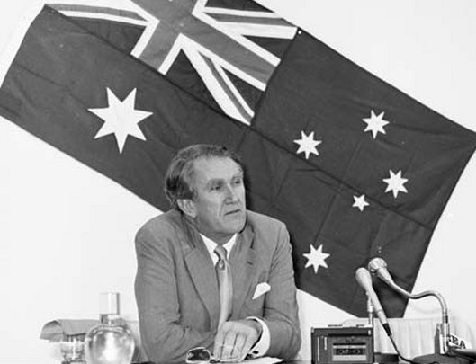 Prime Minister Malcolm Fraser at Immigration Conference in 1981