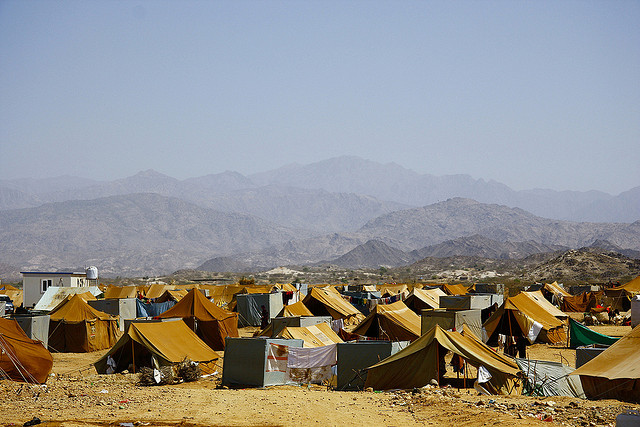 Mazrak Camp, north-west Yemen