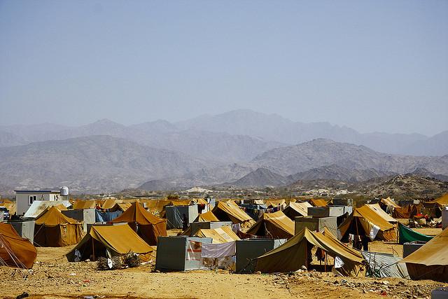 Mazrak Camp, north-west Yemen