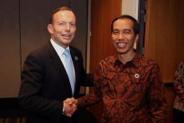Abbott and Jokowi at the G20