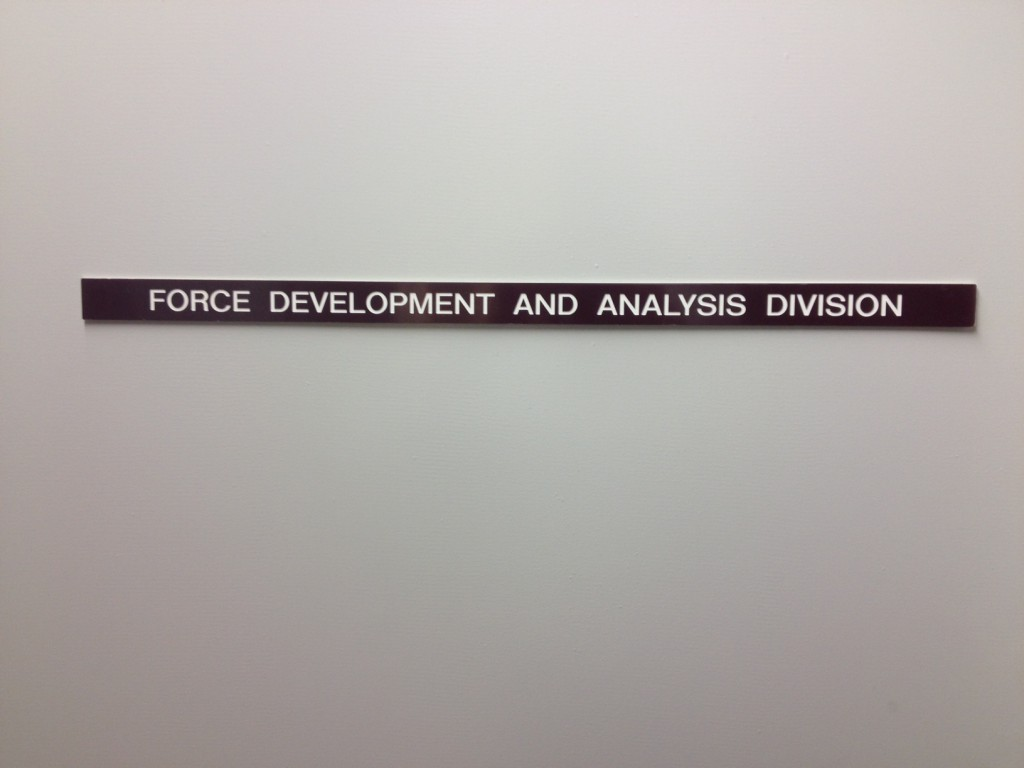 Force Development and Analysis Division
