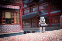 Storm trooper in China