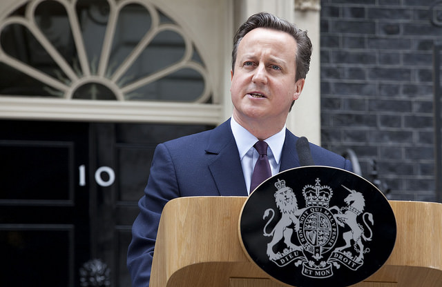 PM David Cameron's speech in Downing Street
