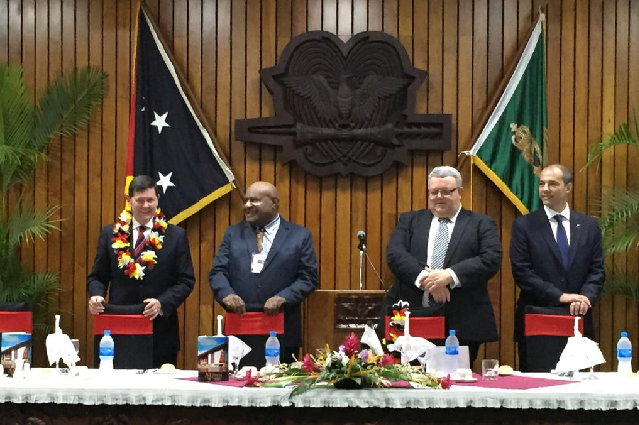 Defence Ministers from South Pacific nations