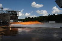 Sparks Fly: Testing 3-D Printed Rocket Injectors (NASA, SLS, 08/29/14)
