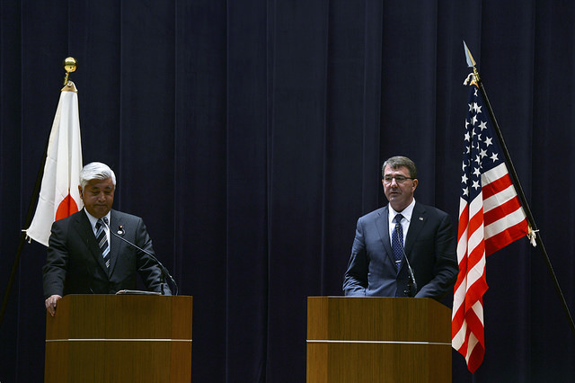 US Secretary of Defense and Japanese Defense Minister discuss issues in Tokyo