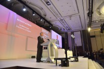 Singapore's Prime Minister Lee Hsien Loong makes opening remarks at the opening dinner of the Shangri-La Dialogue in Singapore, May 29, 2015. DoD Photo by Glenn Fawcett (Released)