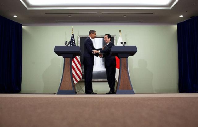 President Barack Obama and Prime Minister Naoto Kan