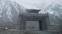 The Chinese border at Khunjerab Pass
