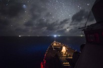 USS Fitzgerald transits the South China Sea