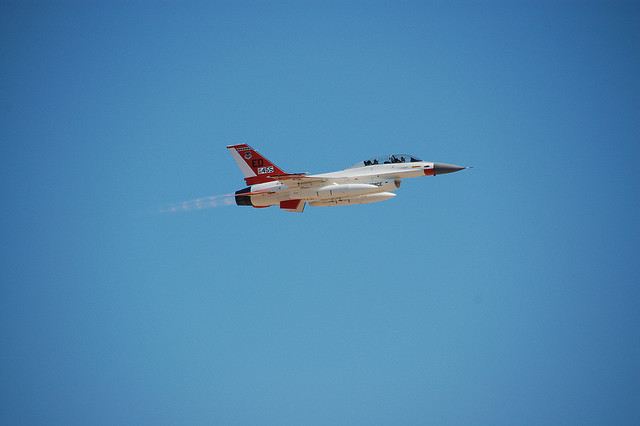 F-16 Chase Plane Lockheed Martin