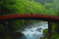 Shinkyo bridge, Japan