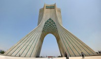 The Azadi Tower, literally the Tower of Freedom, is a symbol of Tehran.