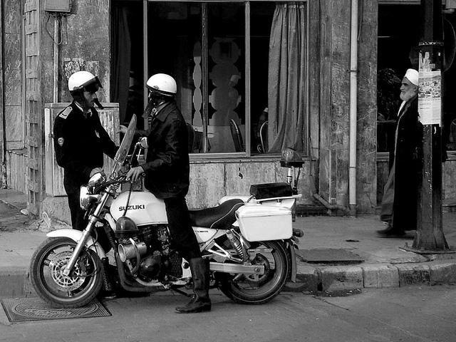 Police in Aleppo