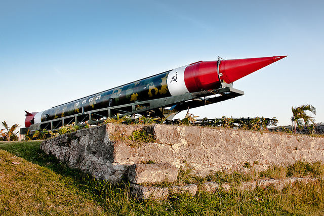 A relic from the Cuban Missile Crisis