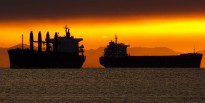 Vancouver Container Ships