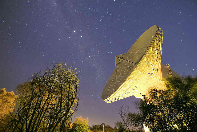 ESA's deep-space tracking station at New Norcia, Australia
