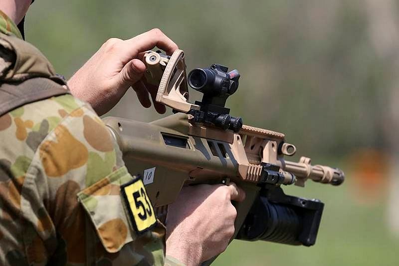Grenade Launcher Attachment and Austeyr trials